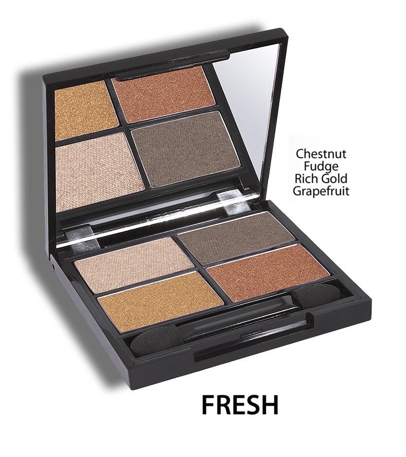 Zuii Organic + eyes + Flora Eyeshadow QUAD Pallet + Fresh + buy