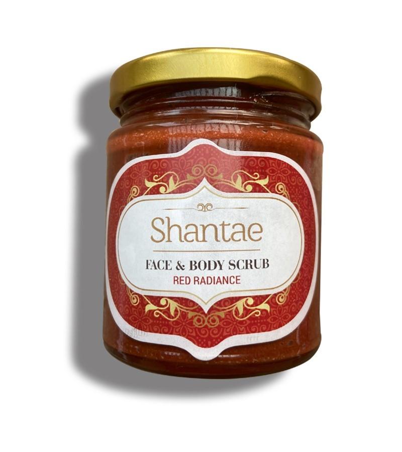 Shantae + body scrubs & exfoliants + Face and Body Scrub Red Radiance + 200 gm + buy