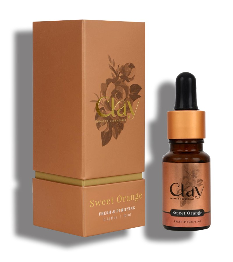 Clay Essentials + essential oils + Sweet Orange essential oil + 10 ml + discount