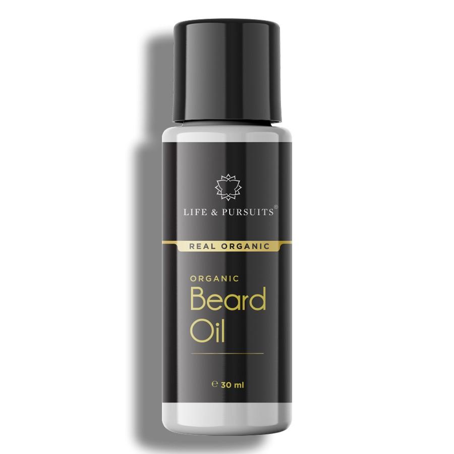 Life & Pursuits + beard + Organic Beard Oil + 30 ml + buy
