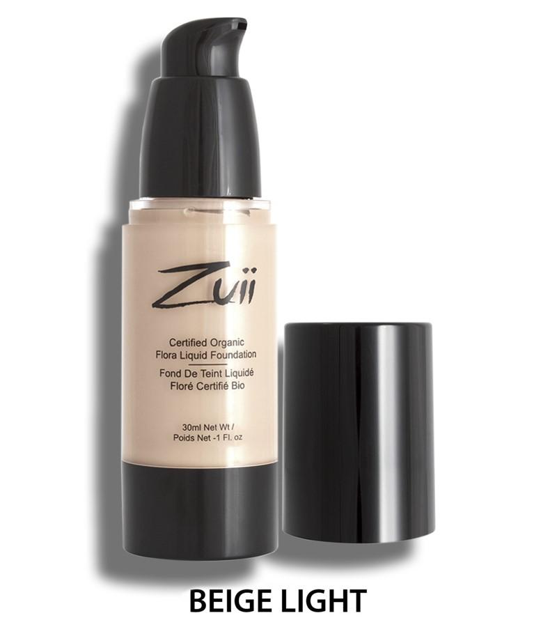 Zuii Organic + face + Liquid Foundation + Beige Lite (30 ml) + buy
