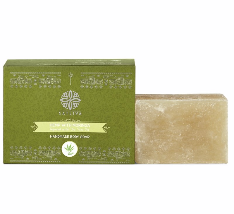 Satliva + soaps + liquid handwash + Hemp With Moringa Soap + 100 gm + deal