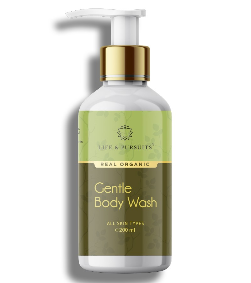 Life & Pursuits + shower gel + body wash + Natural Gentle Body Wash - Lemon + 200 ml + buy
