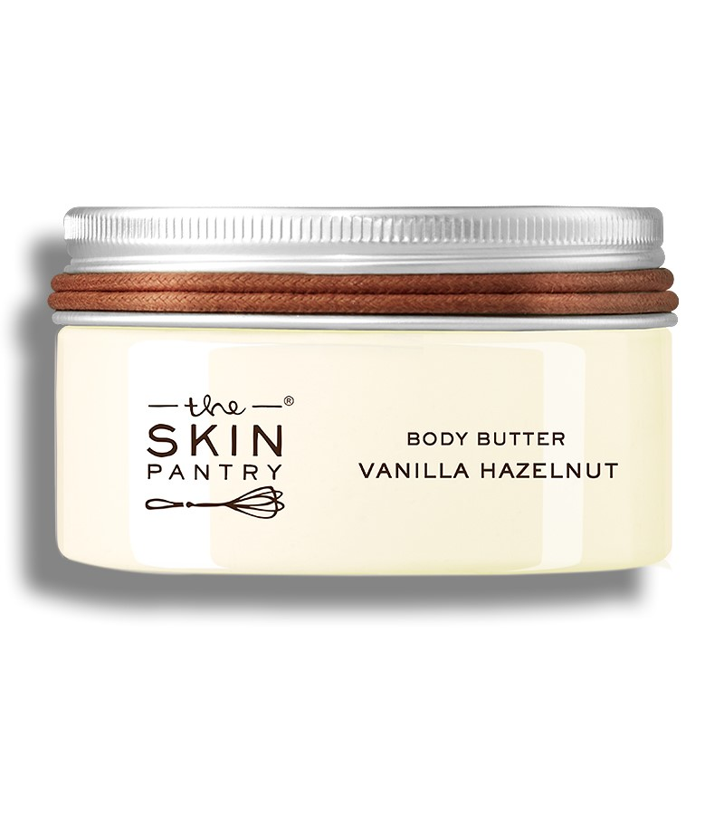 The Skin Pantry + body butters + creams + Body Butter Vanilla Hazelnut For Extra Dry Skin + 100 ml + buy