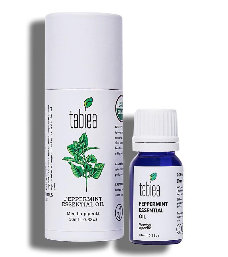 Tabiea + essential oils + Peppermint Essential Oil Organic + 10 ml + shop