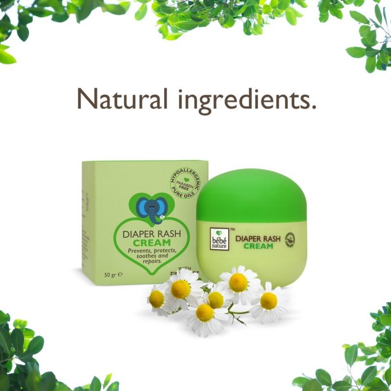 Bebe Nature + baby oils & creams + Bebe Nature Natural Diaper Rash Cream + 50 gm + discount