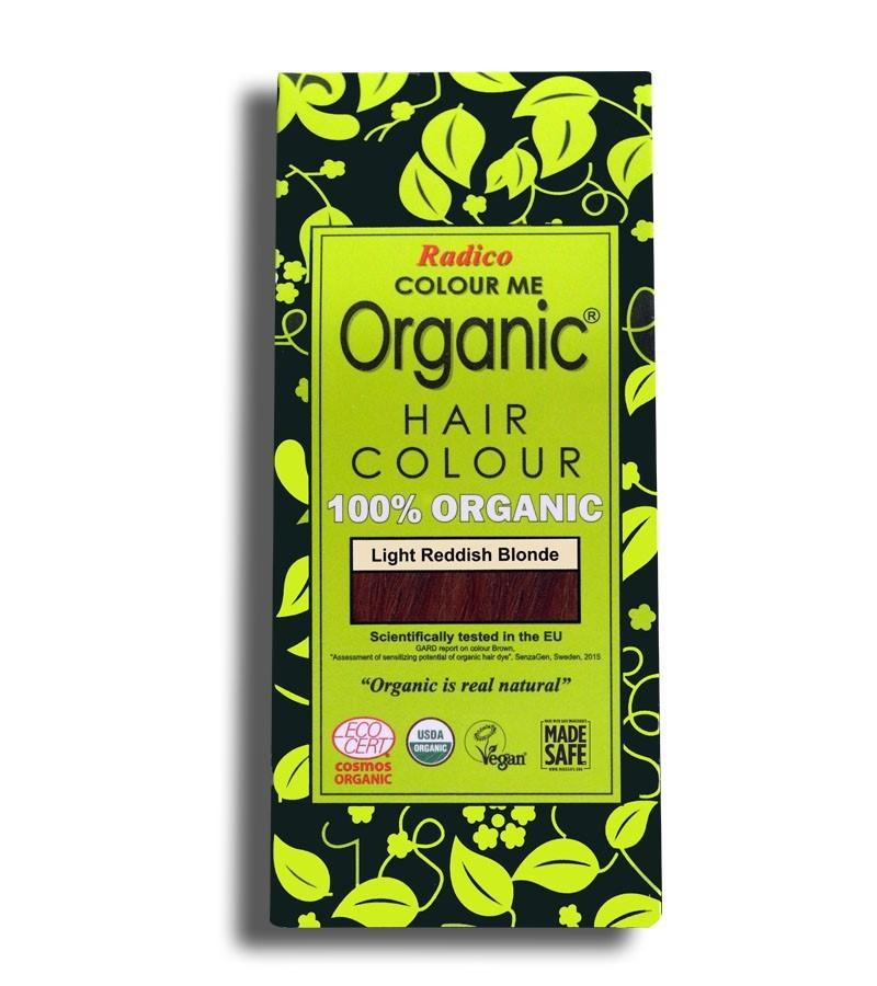 Radico + hair colour + Certified Organic Hair Color Dye - Blonde Shades + Light Reddish Blonde (100 gm) + buy
