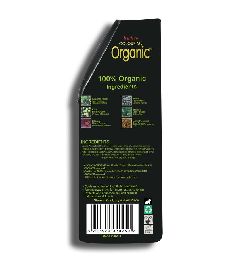 Radico + hair colour + Certified Organic Hair Color Dye - Blonde Shades + Strawberry Blonde (100 gm) + shop