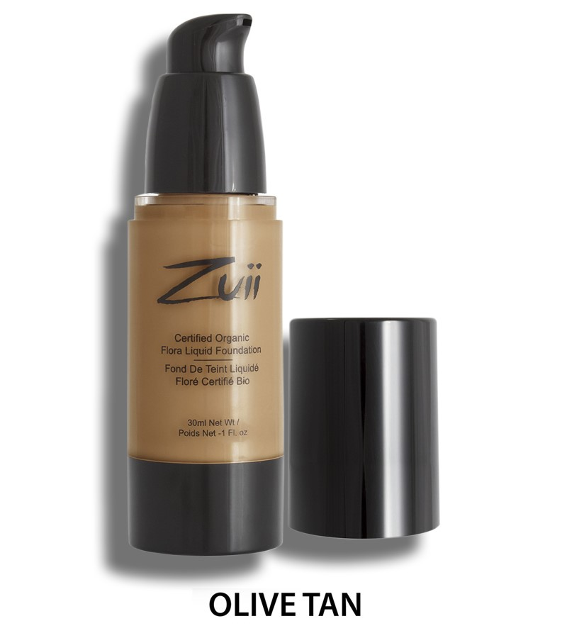 Zuii Organic + face + Liquid Foundation + Olive Tan (30 ml) + buy