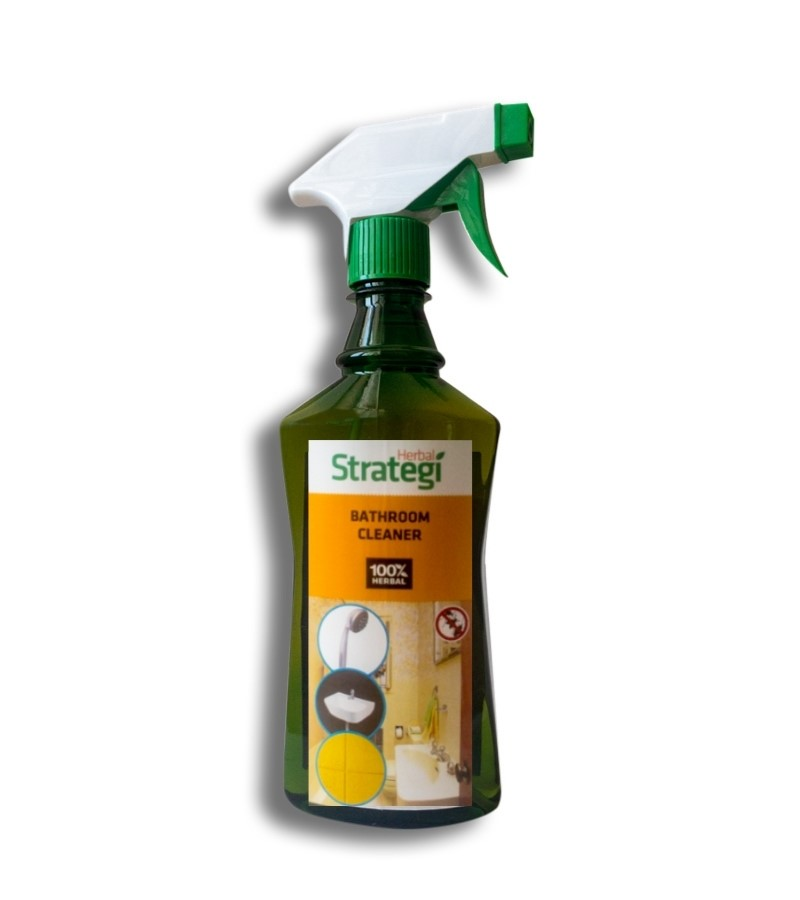 Herbal Strategi + floor + toilet cleaners + Bathroom Cleaner + 500ml (min qty 2) + buy