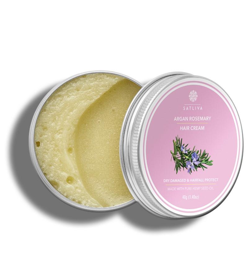 Satliva + hair masks + Argan Rosemary Hair Cream + 40g + shop