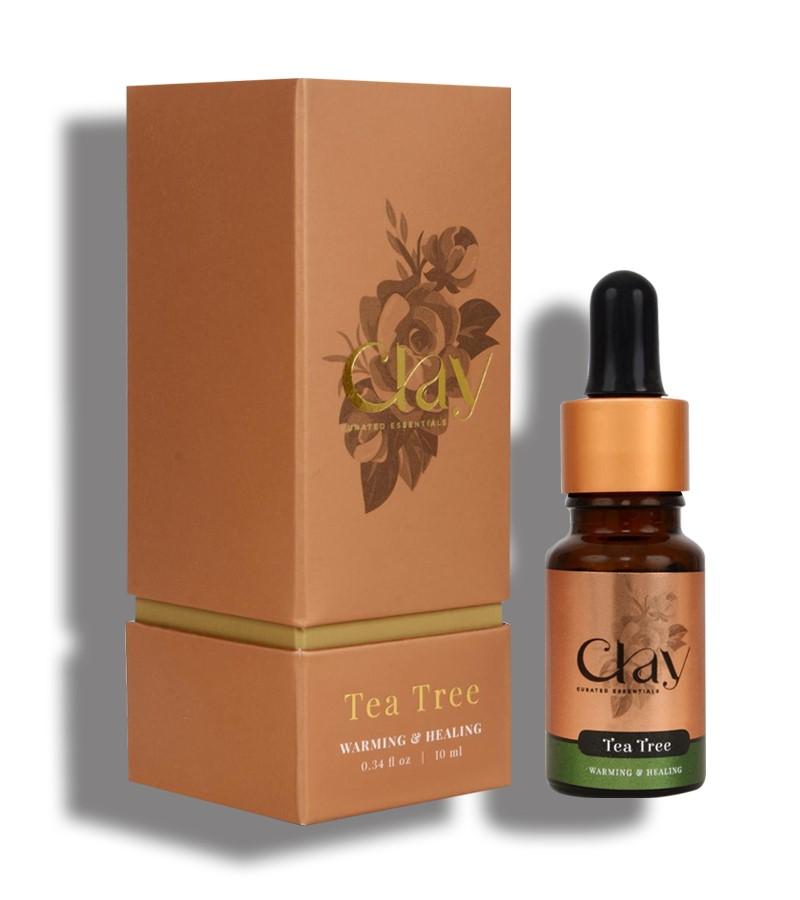 Clay Essentials + essential oils + Tea Tree Eseential Oil + 10 ml + discount