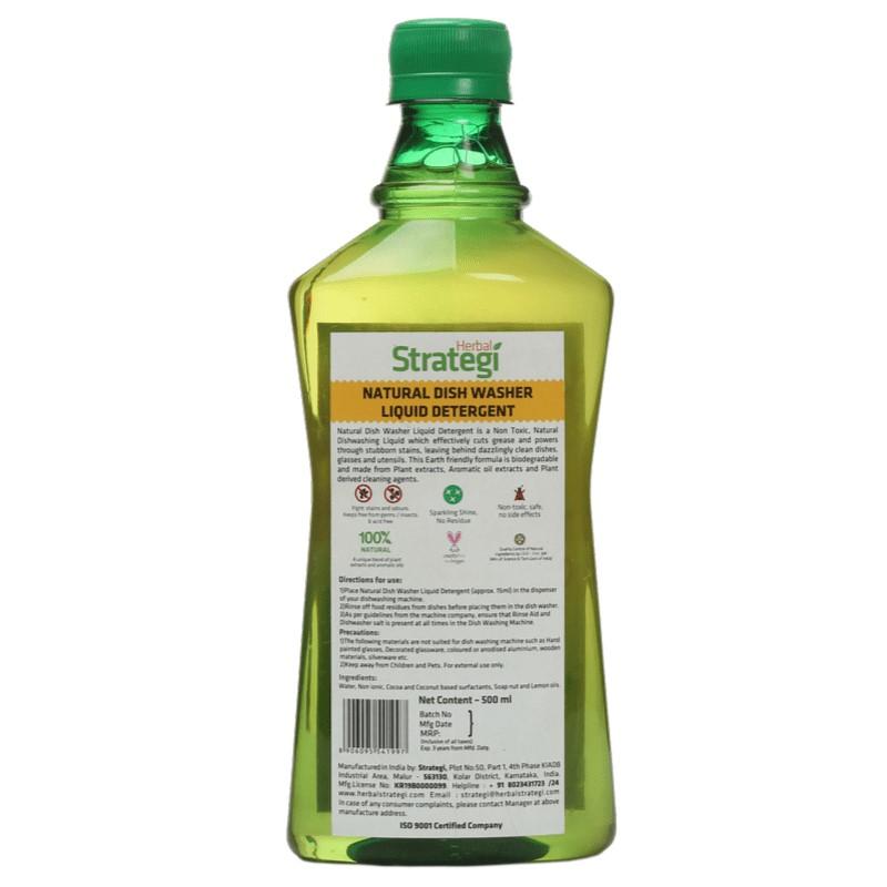 Herbal Strategi + dish cleaners + Natural  Diswasher Liquid Detergent +  + shop