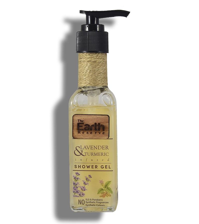 The Earth Reserve + shower gel + body wash + Earthy Blends Infused Shower Gel + Lavender & Turmeric + buy