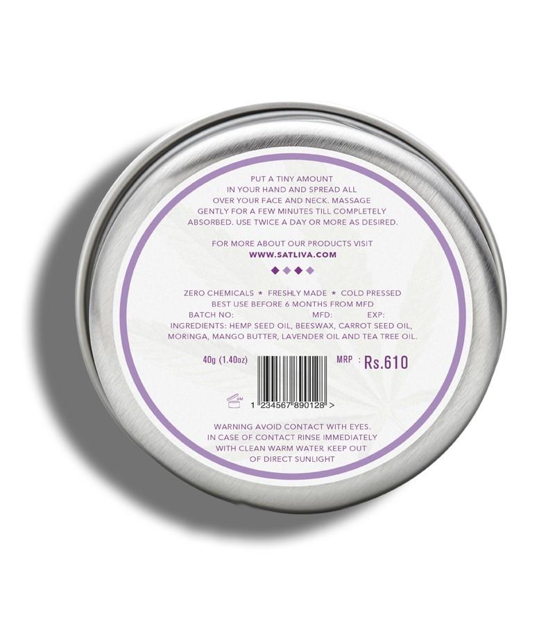 Satliva + face serums + creams + Mango Lavender Face Cream + 40g + discount