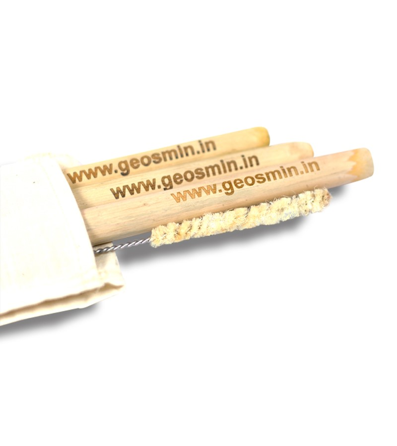 Geosmin + accessories + Bamboo Straw Travel Kit ( 3 straw + 1 cleaner + 1 Cora Pouch) +  + deal