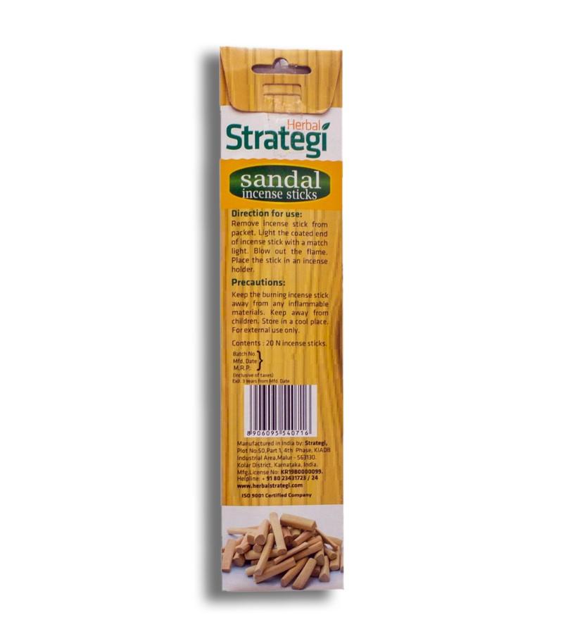 Herbal Strategi + incense sticks + Aromatic Incense Sticks (min qty 5) + Sandal + shop