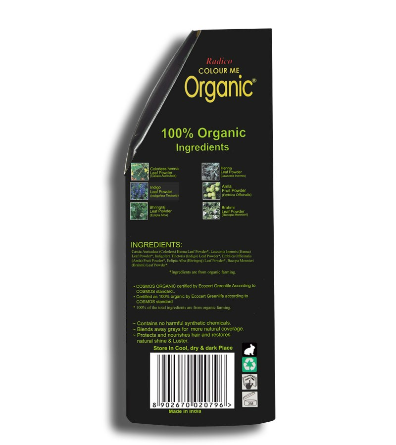 Radico + hair colour + Certified Organic Hair Color Dye - Blonde Shades + Reddish Blonde (100 gm) + shop