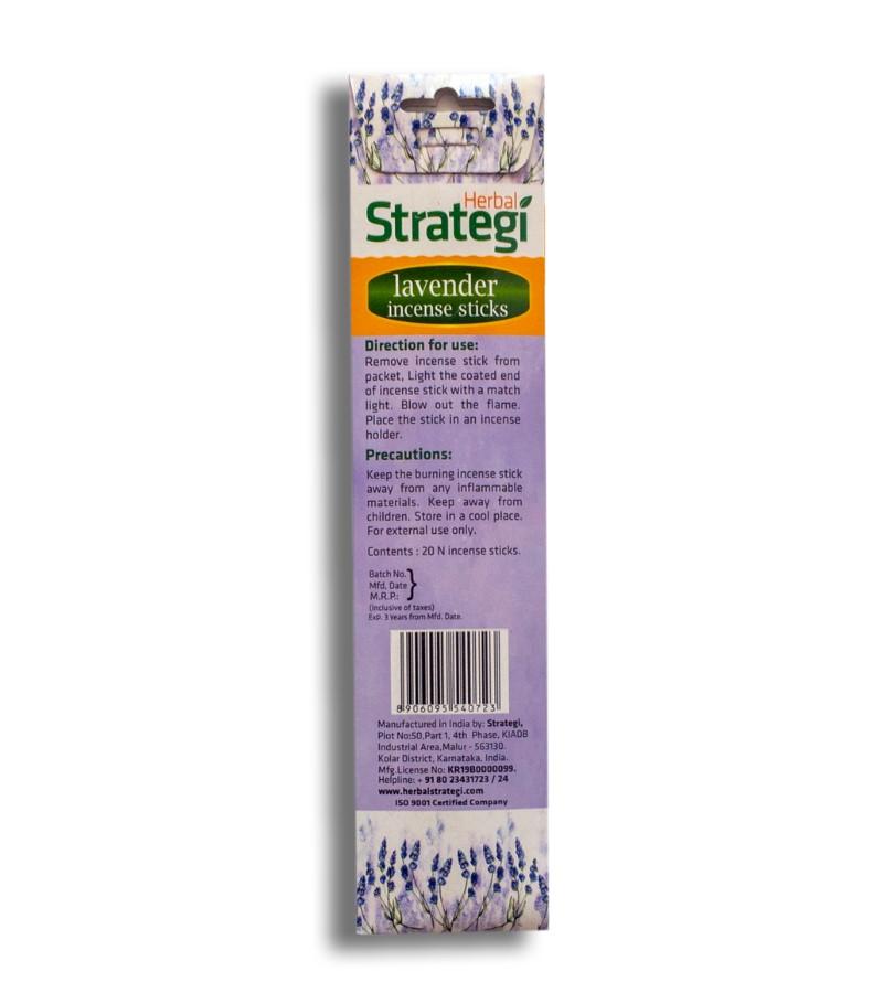 Herbal Strategi + incense sticks + Aromatic Incense Sticks (min qty 5) + Lavender + shop
