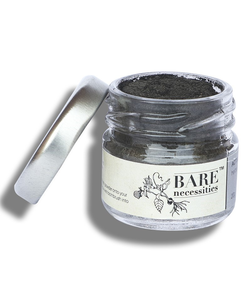 Bare Necessities + toothpaste & tooth powder + Activated Charcoal Toothpowder + 20 gm + deal