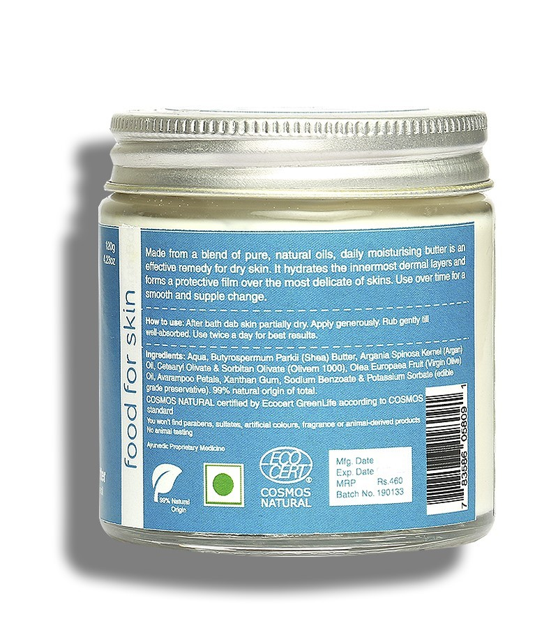 earthBaby + body butters + creams + 99% Natural origin Daily Moisturising Butter + 120 gm + discount
