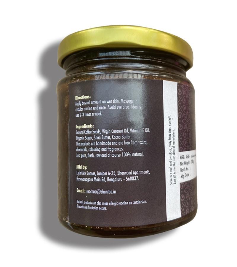 Shantae + body scrubs & exfoliants + Face and Body Scrub Coffee + 200 gm + discount