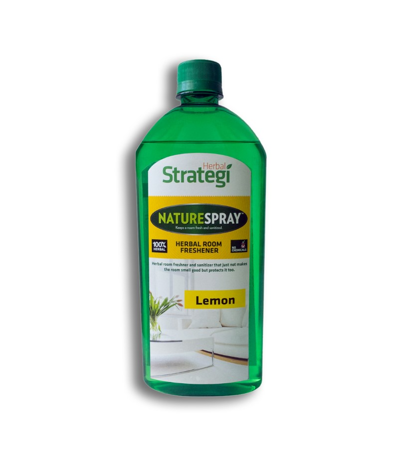 Herbal Strategi + room sprays + Room Disinfectant and Freshener - Lemon + 500 ml + buy