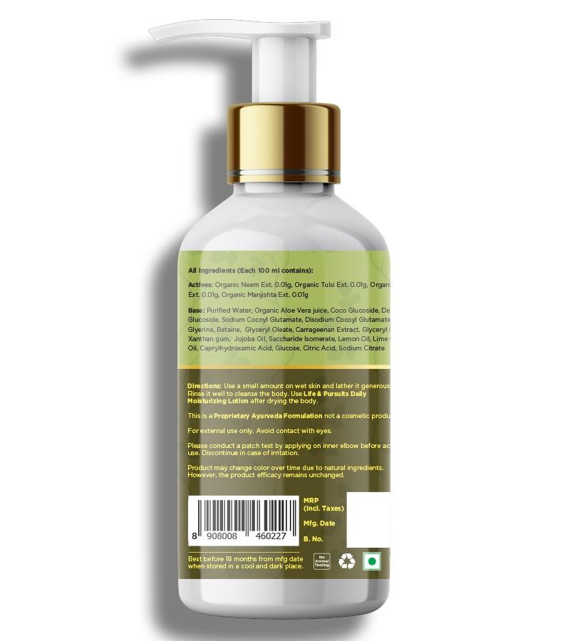Life & Pursuits + shower gel + body wash + Natural Gentle Body Wash - Lemon + 200 ml + discount