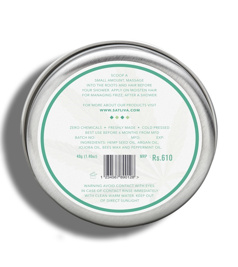 Satliva + hair masks + Argan Peppermint Hair Cream + 40g + discount
