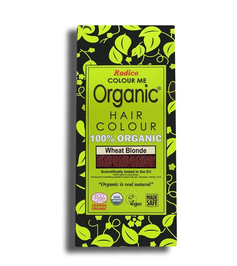 Radico + hair colour + Certified Organic Hair Color Dye - Blonde Shades + Wheat Blonde (100 gm) + buy
