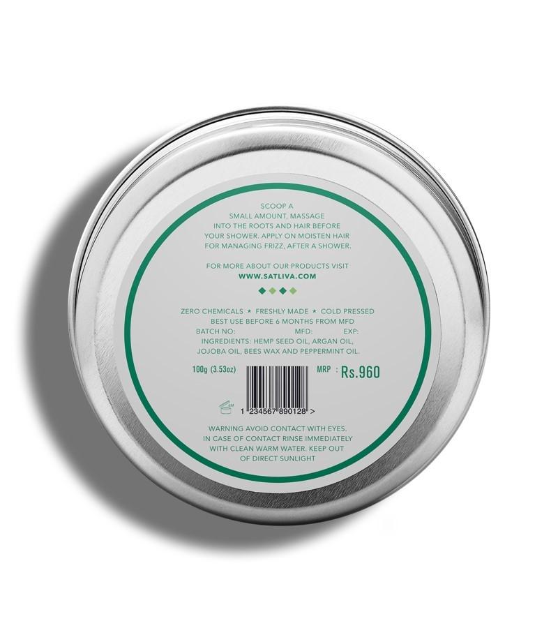 Satliva + hair masks + Argan Peppermint Hair Cream + 100g + discount