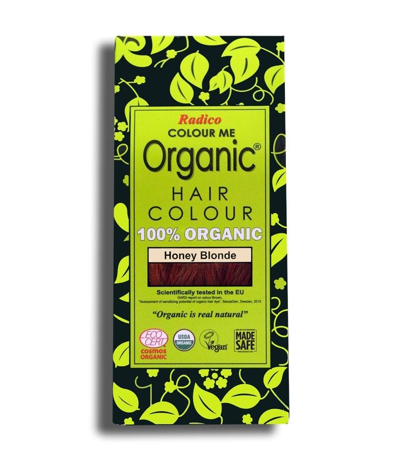 Radico + hair colour + Certified Organic Hair Color Dye - Blonde Shades + Honey Blonde (100 gm) + buy