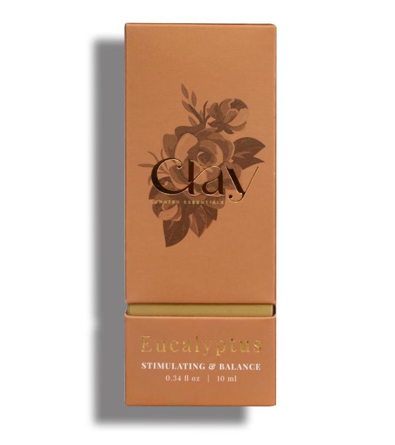 Clay Essentials + essential oils + Eucalyptus Essential Oil + 10 ml + shop