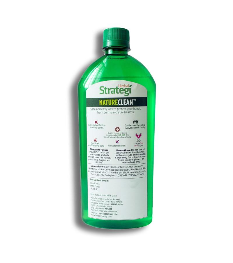 Herbal Strategi + hand sanitizer + Hand Sanitizer + 500 ml + shop
