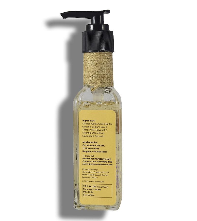The Earth Reserve + shower gel + body wash + Earthy Blends Infused Shower Gel + Lavender & Turmeric + shop