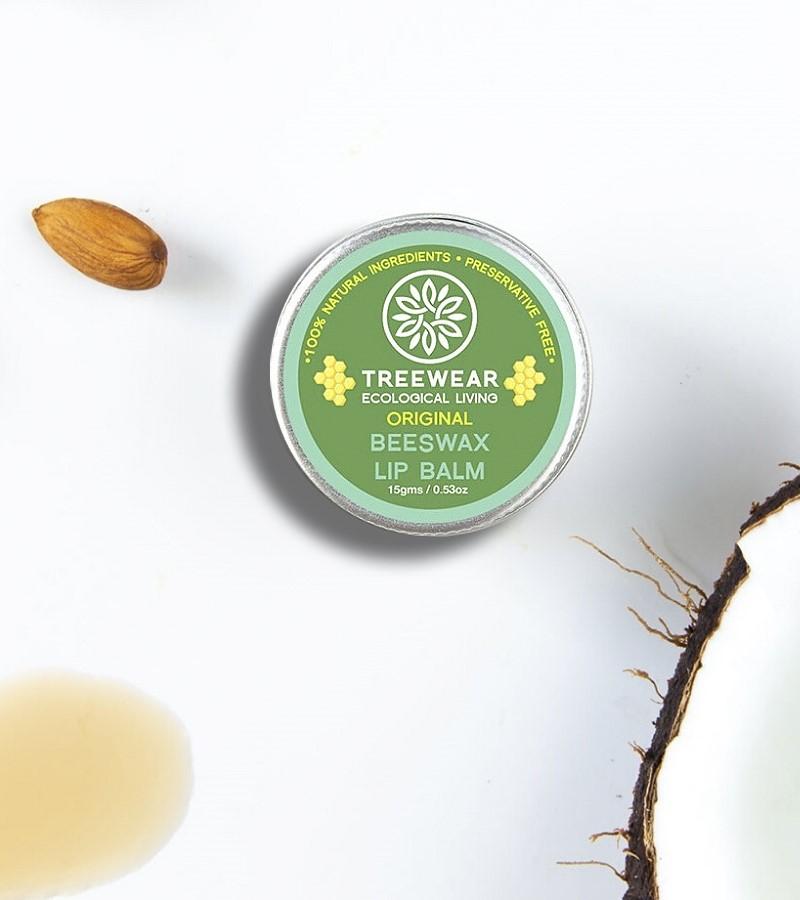 Treewear + lip balms & butters + Beeswax Lip Balm - Original + 15 gm + shop