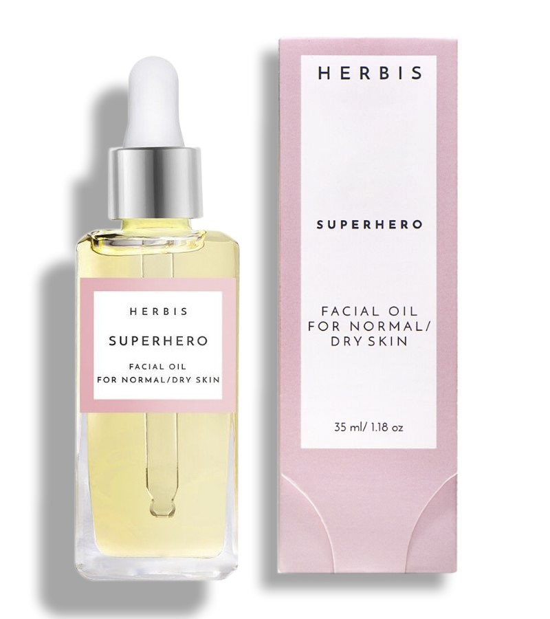 Herbis Botanicals + face oils + Superhero Face Oil + 35 ML + shop