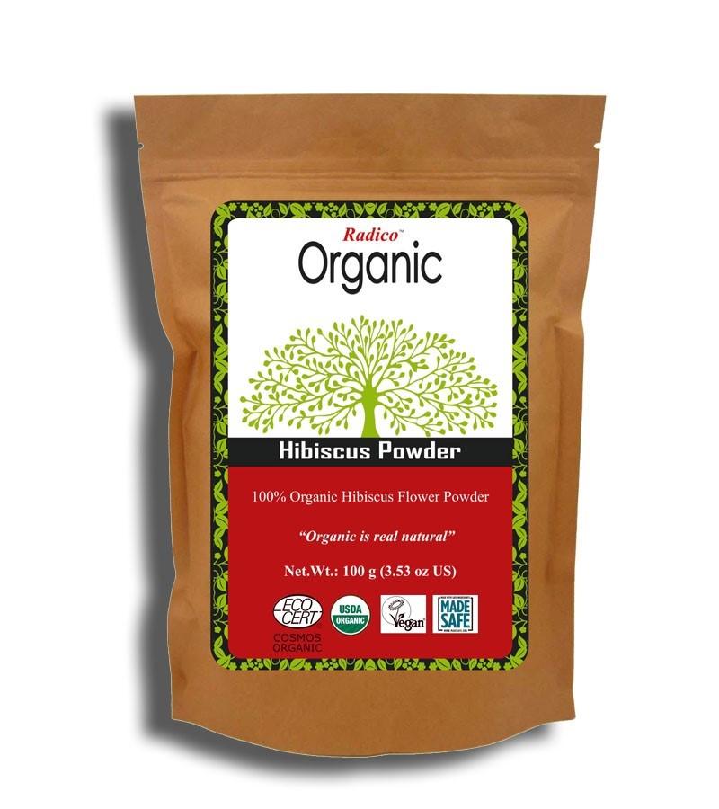 Radico + hair masks + Organic Hibiscus  Powder + 100 gm + buy