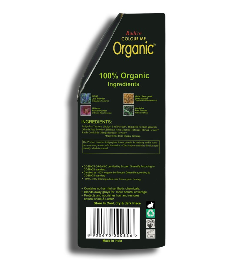 Radico + hair colour + Certified Organic Hair Color Dye-Violet + 100 gm + shop