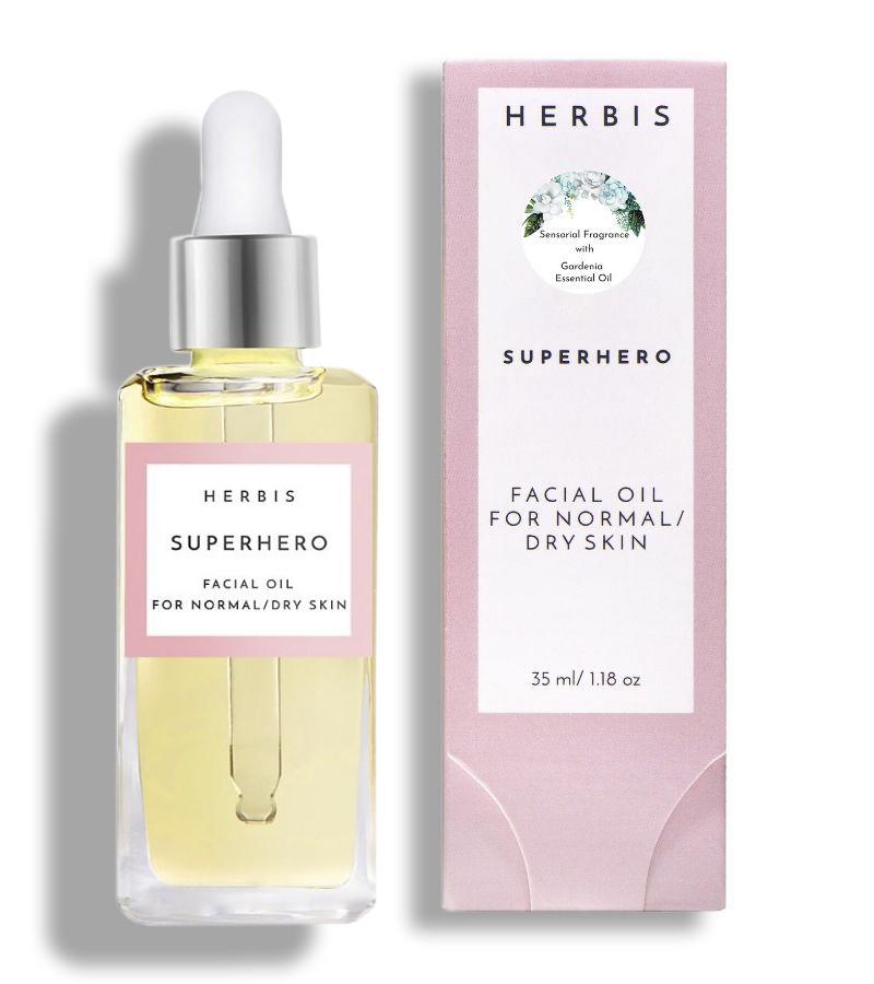 Herbis Botanicals + face oils + Superhero Sensorial Face Oil + 35 ML + shop