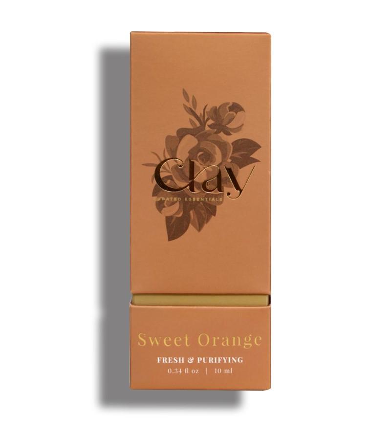 Clay Essentials + essential oils + Sweet Orange essential oil + 10 ml + shop