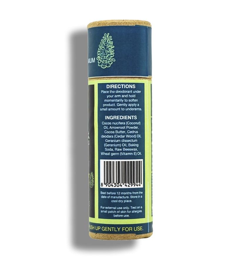 Treewear + deodorant + Natural Deodorant Stick - Forest Fragrant + 33 gm + discount