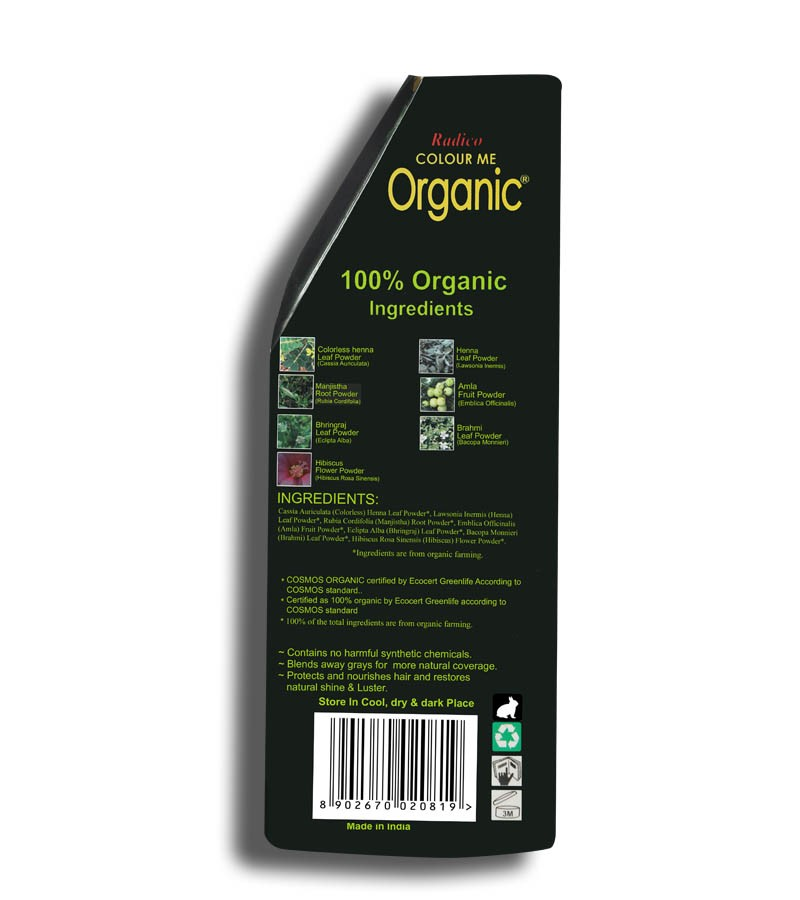 Radico + hair colour + Certified Organic Hair Color Dye - Blonde Shades + Champagne Blonde (100 gm) + shop