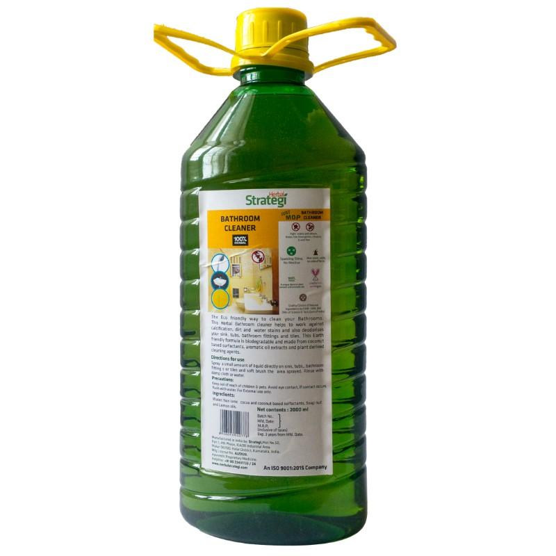 Herbal Strategi + floor + toilet cleaners + Bathroom Cleaner + 2000 ml + shop