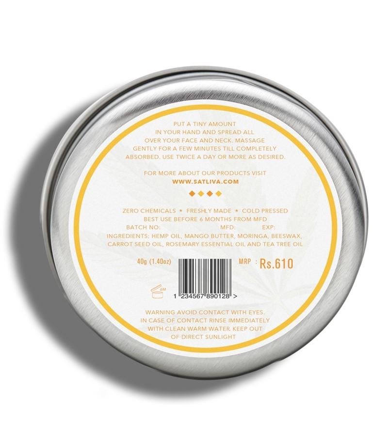 Satliva + face serums + creams + Mango Rosemary Face Cream + 40g + discount