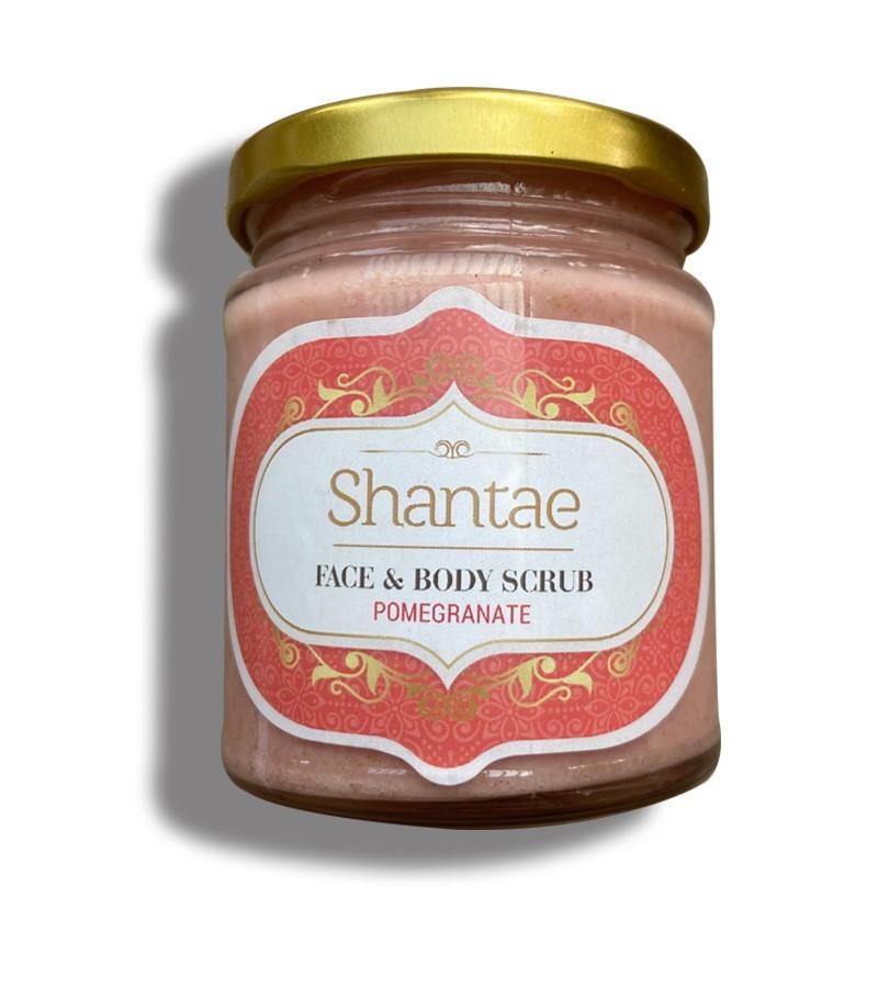 Shantae + body scrubs & exfoliants + Face and Body Scrub Pomegranate + 200 gm + buy