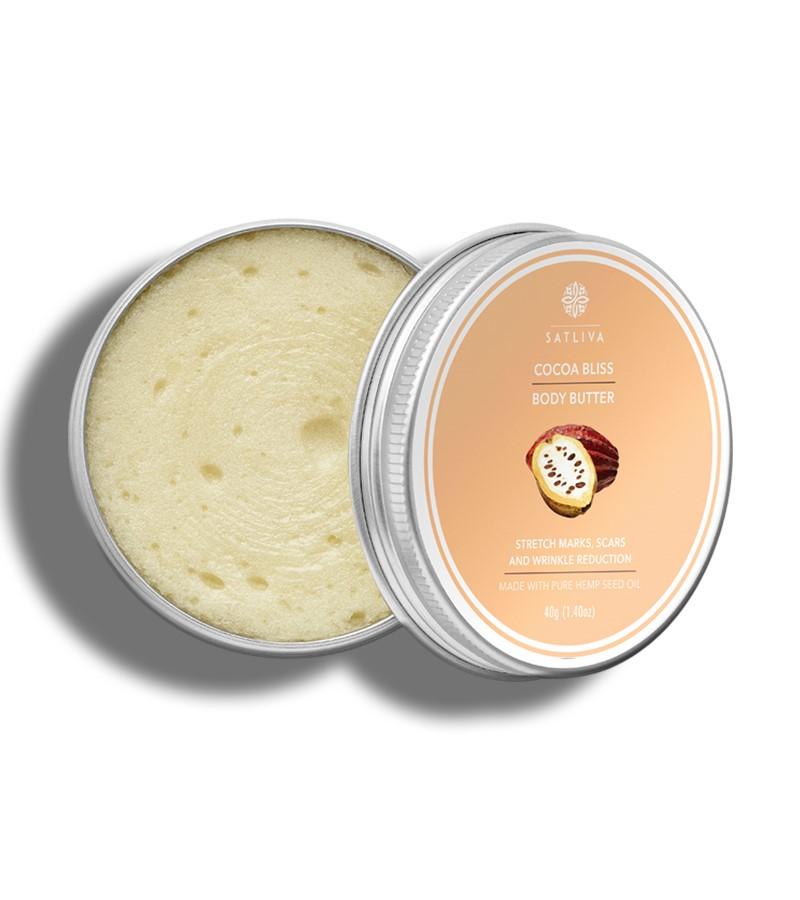 Satliva + body butters + creams + Cocoa Bliss body butter + 40g + shop
