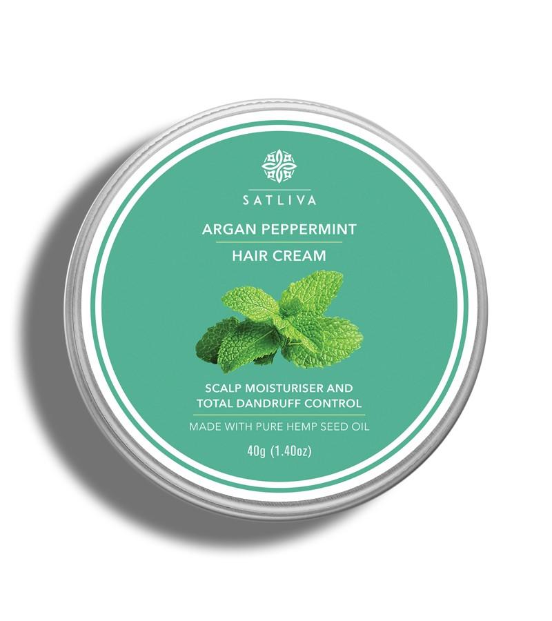 Satliva + hair masks + Argan Peppermint Hair Cream + 40g + buy