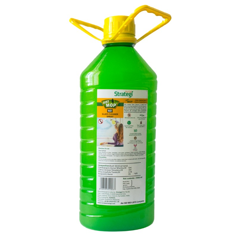 Herbal Strategi + glass cleaners + Glass Cleaner Spray + 2000 ml + shop