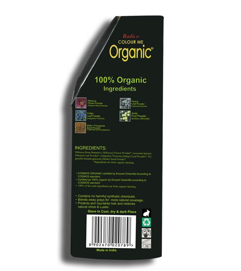 Radico + hair colour + Certified Organic Hair Color Dye - Blonde Shades + Honey Blonde (100 gm) + shop